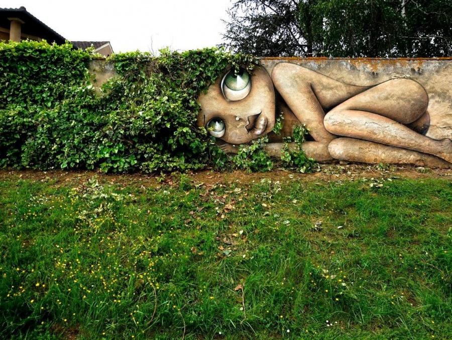 Oz, Francuska, autor Vinie Graffiti (streetartnews.net)