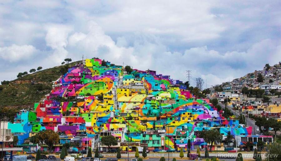 Las Palmitas, Meksiko, autor German Crew (streetartnews.net)