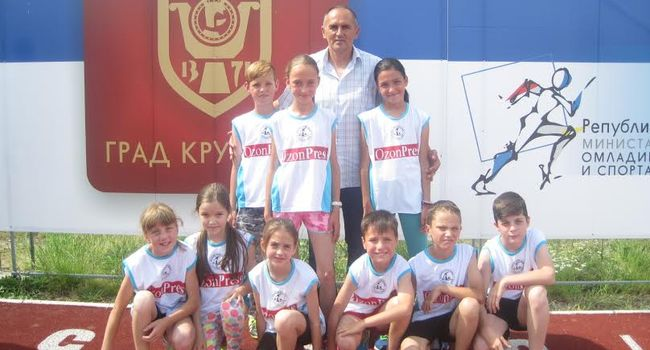 "Atletski klub ""ČAAK"", foto: Dragan Dukanac"