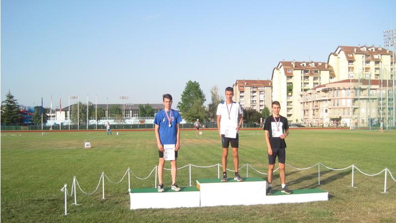 """Bogdan Joković 1 u trci na 1500 m, foto: AK """"ČAAK"""""""