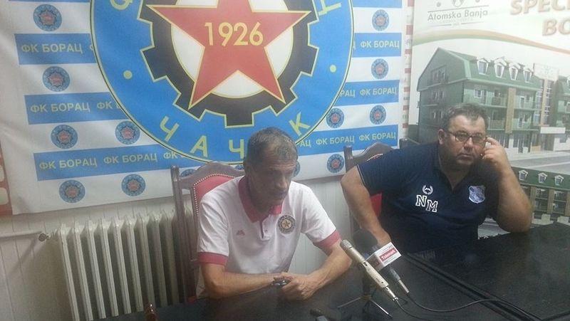 Ljubiša Dmitrović i Nenad Milovanović, foto: PressLider