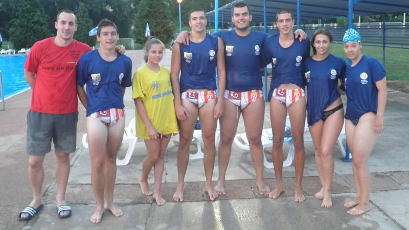 Takmičari ekipe Vaterpolo klub Borac, Foto: PressLider
