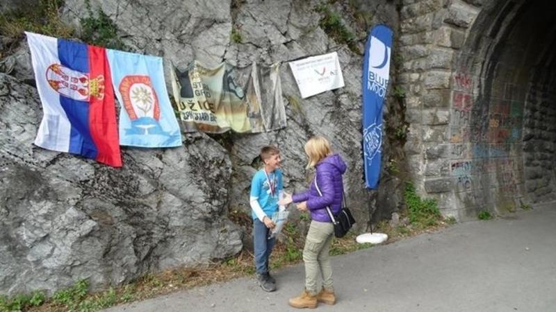 Matej Knežević prima medalje/ Foto: SPK Stari grad