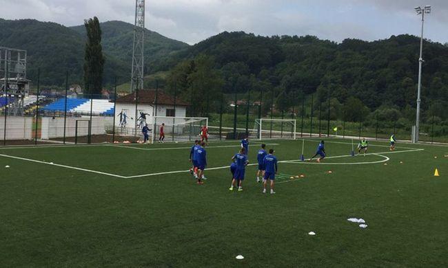 Trening fudbalera Mladosti, foto: M. Trmčić