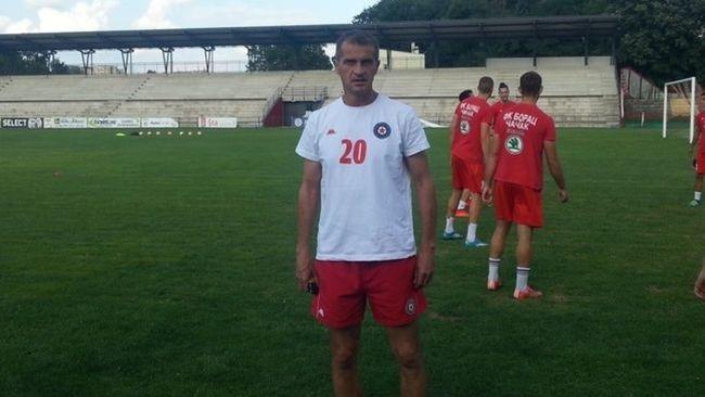 Šef stručnog štaba Borca Ljubiša Dmitrović, foto: M. Trmčić