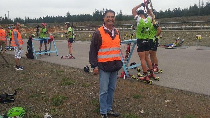 Predsednik biatlon saveza Srbije Milivoje Ilić, foto: PressLider