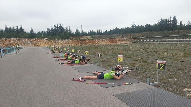 Takmičari na strelištu ski centra Žari, foto: PressLider