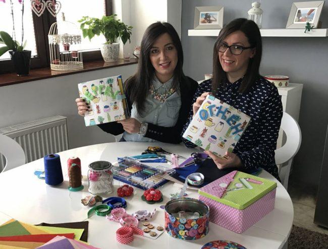 Sonja i Marija u radionici: Knjige su namenjene deci od 6 meseci do 7 godina