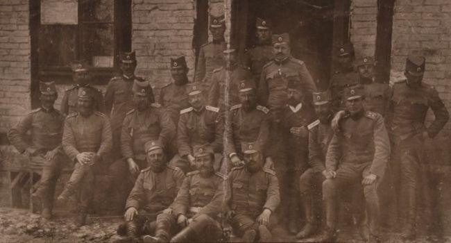 Oficiri X kadrovskog puka 1915. godine, foto: Wikipedia