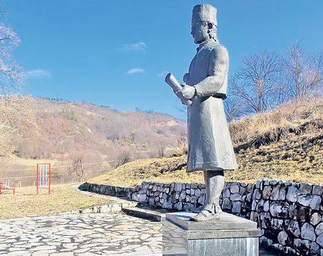 Spomenik knjazu Milošu u Gornjoj Dobrinji, Arhivska fotografija: S. Jovičić