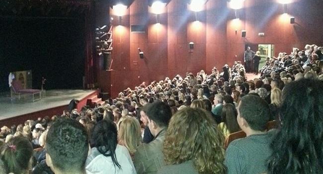 Sala Doma kulture pred početak predstave, foto: PressLider