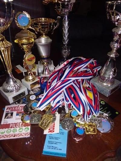 Miloševa kolekcija medalja
