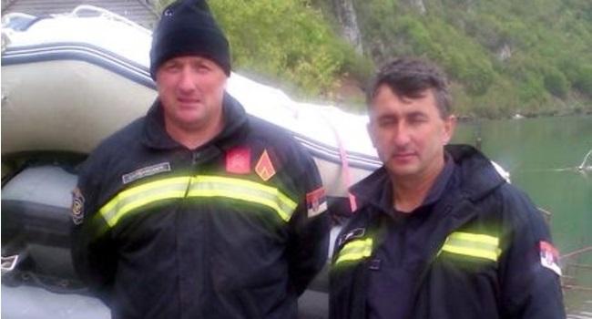 Miodrag (levo) s kolegom pre nesreće, Foto: Privatna arhiva