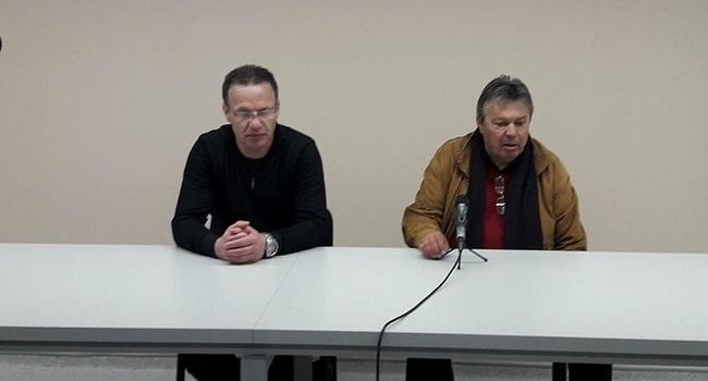Mladen Dodić i Milorad Kosanović, foto. pressLider
