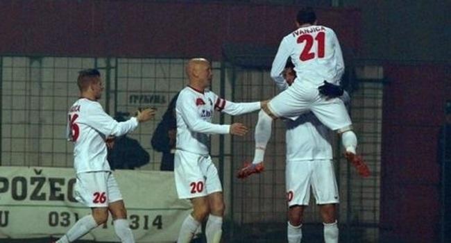 Radost fudbalera Javora, Foto: M. Cvetković / RAS Srbija
