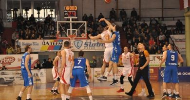 Košarkaši Borca se mučili protiv Spartaka, ali upisali pobedu