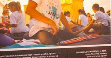 Arlemm-ov Umetnički karavan iz Užica se seli u Čačak