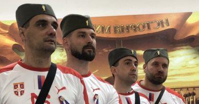 Šajkače iz ČAČKA podrška reprezentaciji Srbije u Rusiji