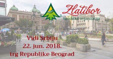 """""""Vidi Srbiju – koje momente ćeš pamtiti ovog leta"""": Promocija Zlatibora na Trgu republike"""