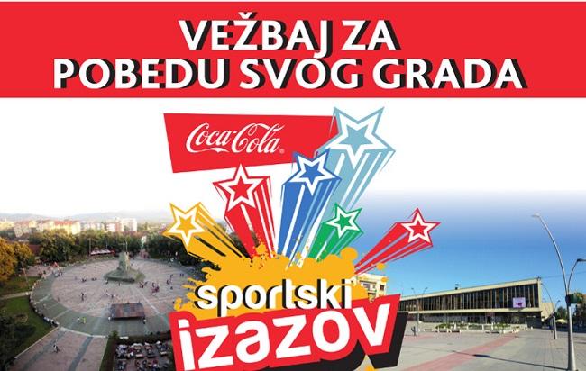ČAČANI dođite na Sportski izazov: Vežbajte za pobedu svog grada!
