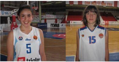Čačanske košarkašice, Isidora Tripković i Sonja Dopuđa, među 12 NAJBOLJIH u ligi