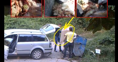 """Saopštenje JKP """"Komunalac"""": Koljem i bacam gde stignem (video)"""