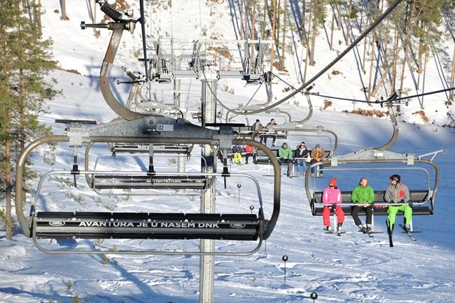 Otvaranje nove ski staze na Torniku
