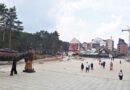 Radovi i turisti na Kraljevom trgu