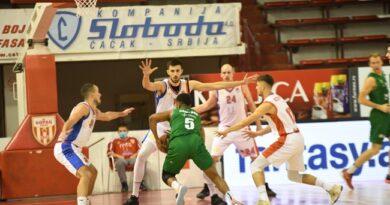 Borac nije uspeo da dođe do pobede nad Krkom (FOTO)