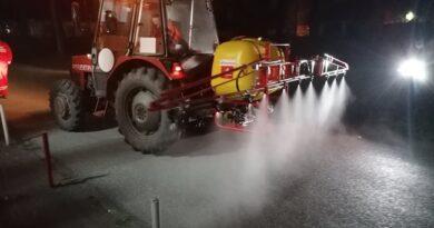 Kalcijum hlorid za sprečavanje leda na trotoarima i kolovozima u Čačku