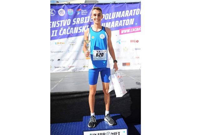 Ognjen Nikolić među najuspešnijim atletičarima u 2020. godini