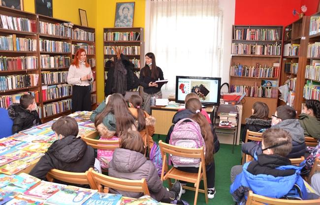 """Gradska biblioteka realizovala radionicu """"Mala škola pravopisa"""""""