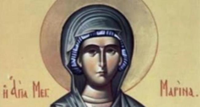 Danas je Ognjena Marija – Sveta velikomučenica Marina