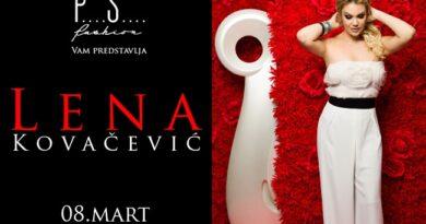 Koncert Lene Kovačević 8. marta u Čačku