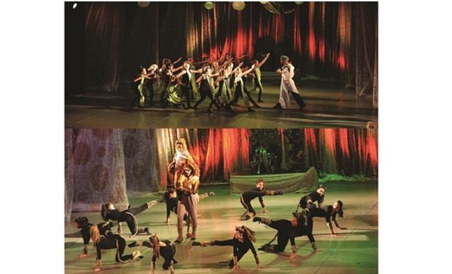 """Mjuzikl za decu """"Putovanje kroz čudesnu planetu"""" u izvođenju plesnog kluba """"Luna"""" u Domu kulture"""
